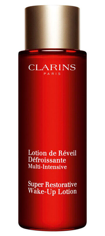 Clarins Super Restorative Wake-Up Lotion   i gruppen Hudpleie / Mists, essences & toners / Ansiktsvann & toner hos Bangerhead.no (201920001)