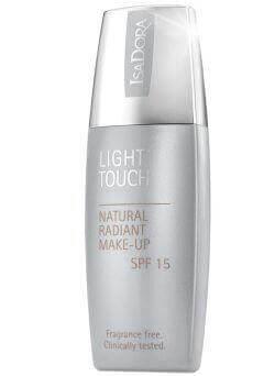 IsaDora Light Touch Natural Radiant Make-up SPF 15 i gruppen Makeup / Base / Foundation hos Bangerhead.no (214450r)