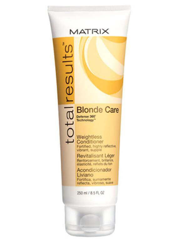 Matrix Total Results BlondeCare Conditioner (250ml) i gruppen Hårvård / Schampo & balsam / Balsam hos Bangerhead (35370804)