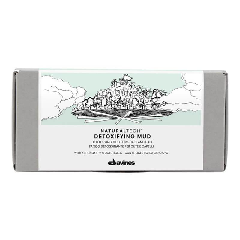 Davines Detoxifying Mud  6st i gruppen Hårvård / Inpackning & treatments / För hårbotten hos Bangerhead (53407)