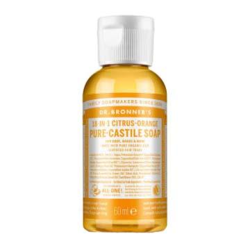 Dr. Bronner's Liquid Soap Citrus-Orange i gruppen Kroppspleie & spa / Hender & føtter / Håndsåpe hos Bangerhead.no (B001281r)