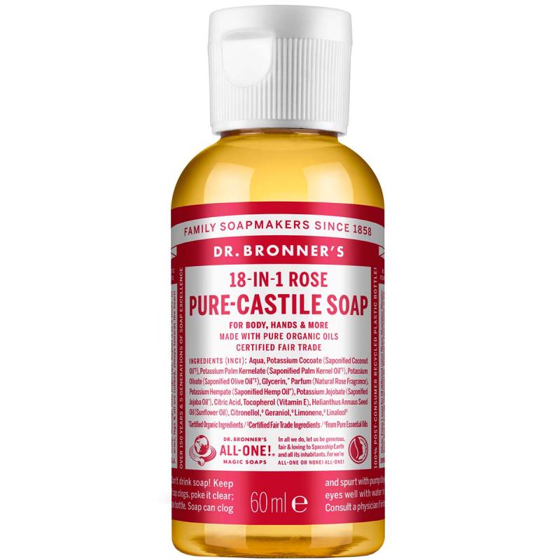 Dr. Bronner's Liquid Soap Rose i gruppen Kroppspleie  / Hender & føtter / Håndsåpe hos Bangerhead.no (B001283r)