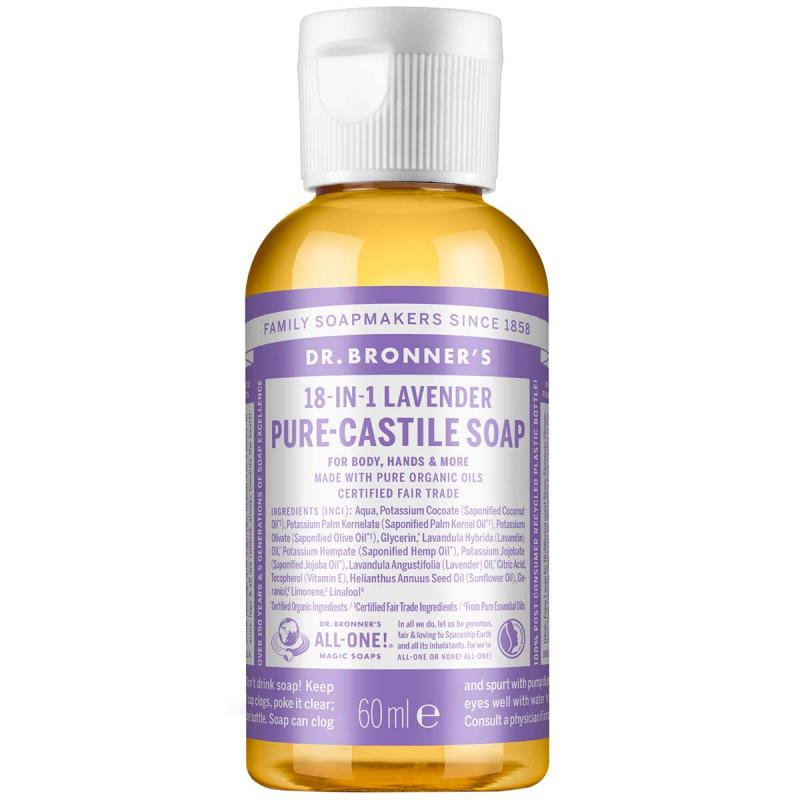 Dr. Bronner's Liquid Soap Lavender i gruppen Kroppspleie & spa / Hender & føtter / Håndsåpe hos Bangerhead.no (B001284r)