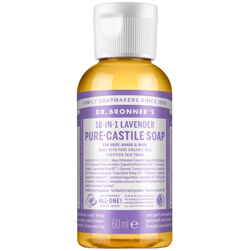 Dr. Bronner's Liquid Soap Lavender i gruppen Kroppsvård / Handvård & fotvård / Handtvål hos Bangerhead (B001284r)