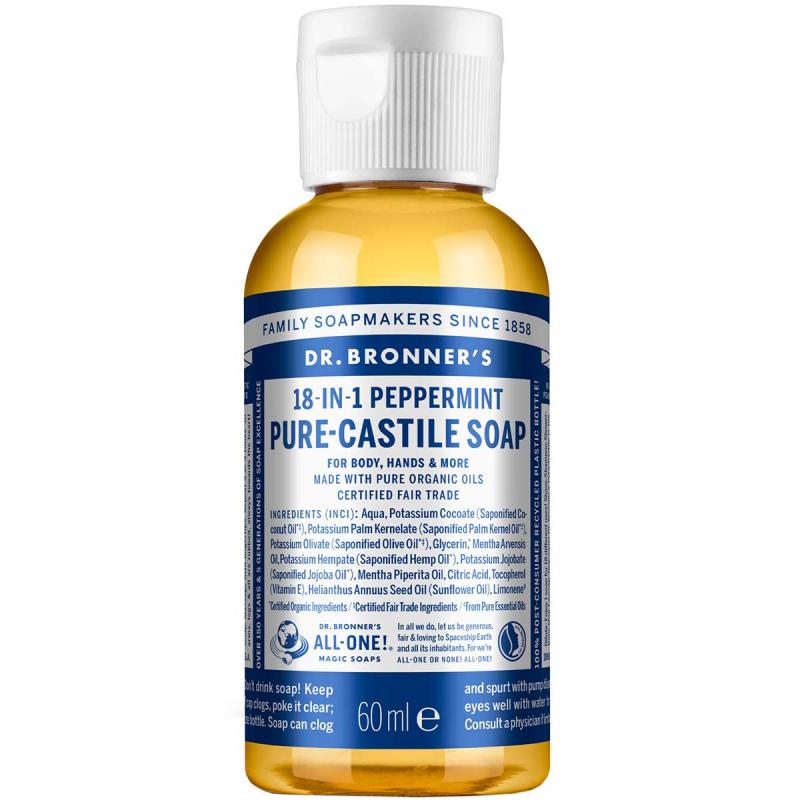 Dr. Bronner's Liquid Soap Peppermint ryhmässä Vartalonhoito & spa / Kädet & jalat / Käsisaippuat at Bangerhead.fi (B001285r)