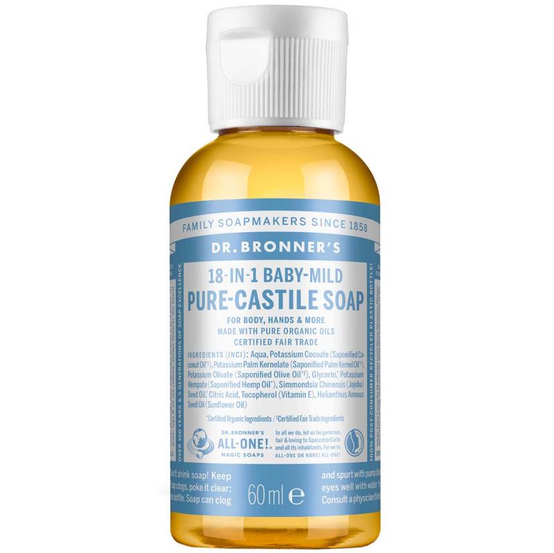 Dr. Bronner's Liquid Soap Neutral-Mild i gruppen Kroppspleie  / Hender & føtter / Håndsåpe hos Bangerhead.no (B001294r)