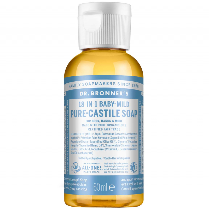 Dr. Bronner's Liquid Soap Neutral-Mild ryhmässä Vartalonhoito  / Kädet & jalat / Käsisaippuat at Bangerhead.fi (B001294r)