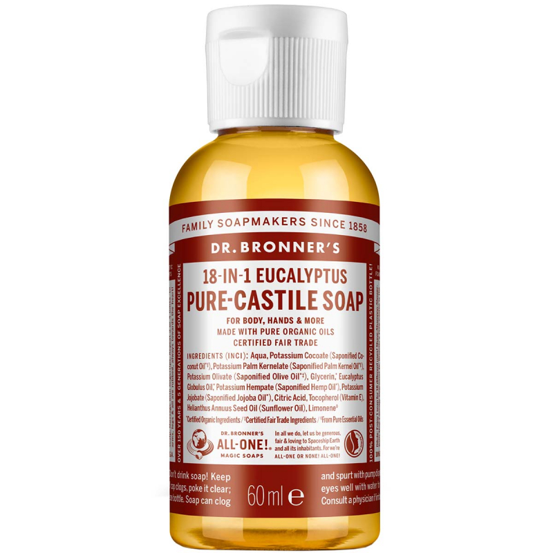 Dr. Bronner's Liquid Soap Eukalyptus i gruppen Kroppspleie & spa / Hender & føtter / Håndsåpe hos Bangerhead.no (B001288r)