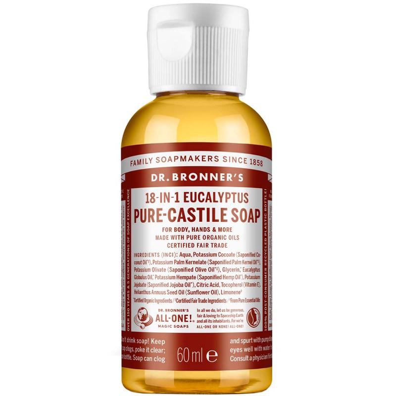 Dr. Bronner's Liquid Soap Eukalyptus i gruppen Kroppspleie  / Hender & føtter / Håndsåpe hos Bangerhead.no (B001288r)