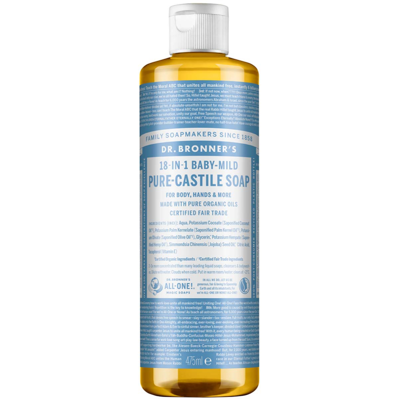 Dr. Bronner's Liquid Soap Neutral-Mild i gruppen Kropp & spa / Hender & føtter / Håndsåpe hos Bangerhead.no (B001294r)