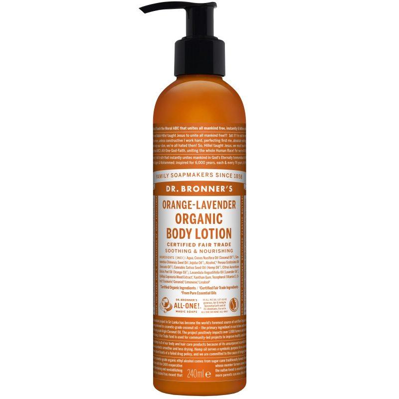 Dr. Bronner's Lotion Orange Lavender 237 ml