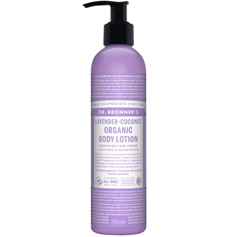 Dr. Bronner's Lotion Lavender Coconut 237 ml