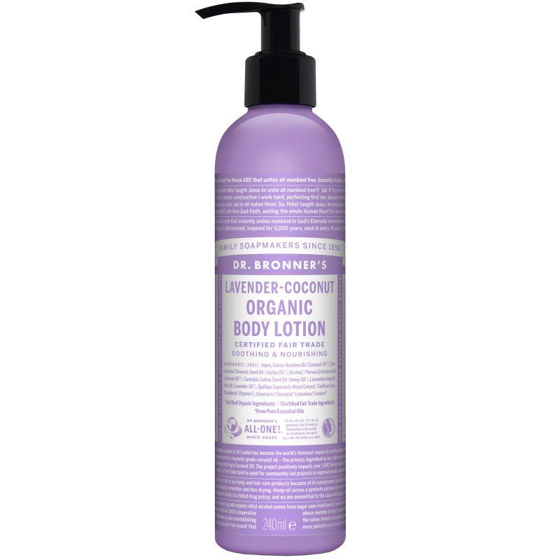 Dr. Bronner's Lotion Lavender Coconut 237 ml