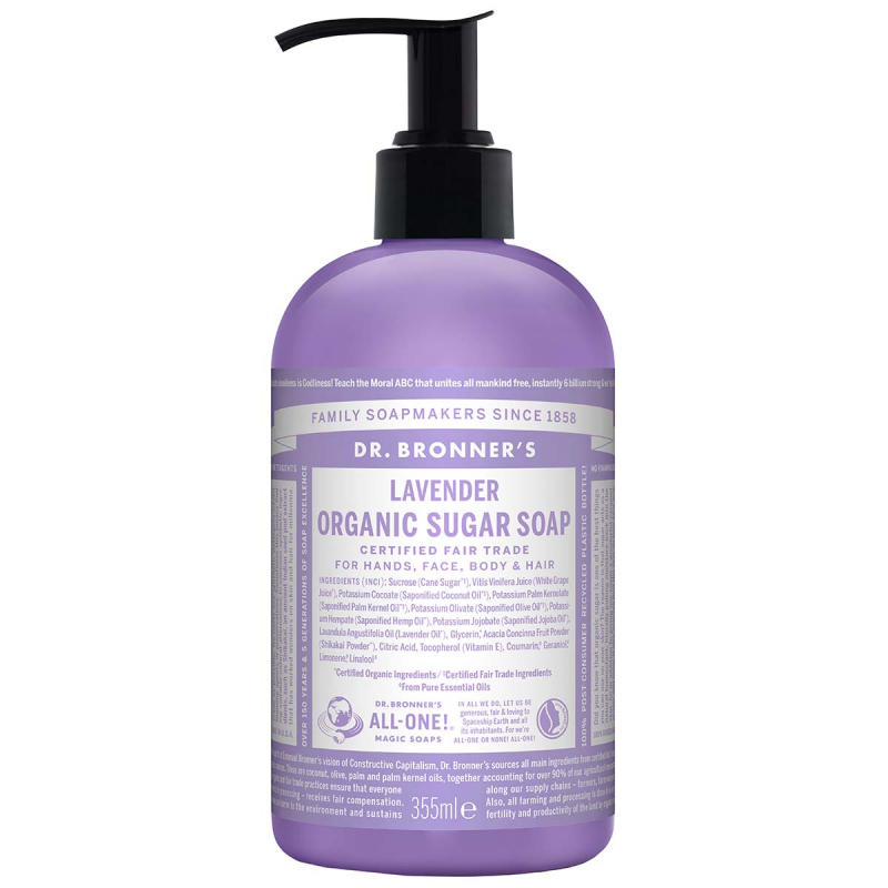 Dr. Bronner's Shikakai Soap Lavender 355 ml