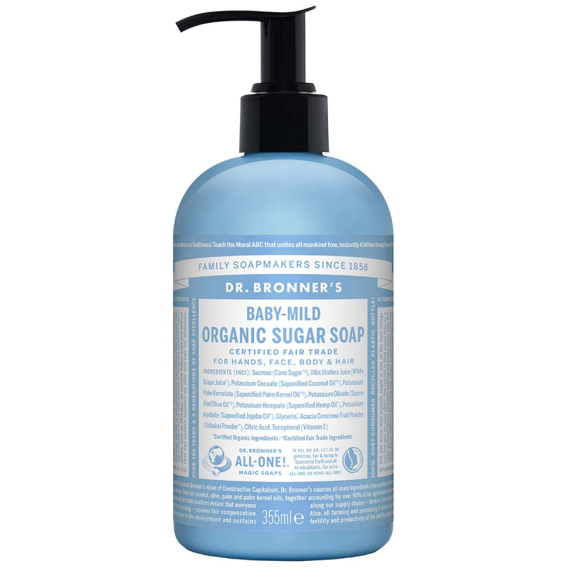 Dr. Bronner's Shikakai Soap Naked Unscented 355 ml