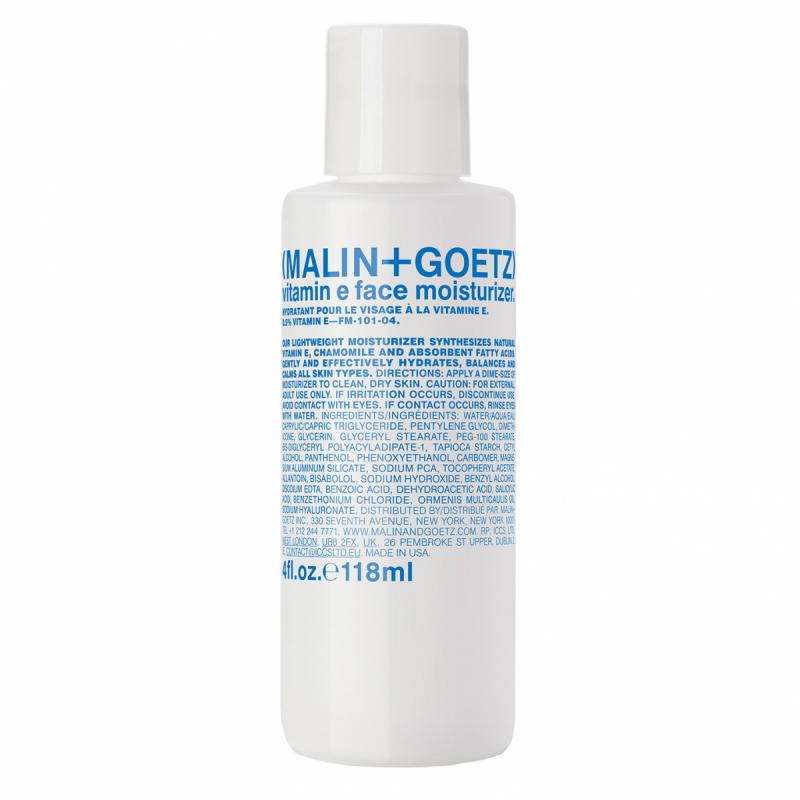 Malin+Goetz Vitamin E Face Moisturizer +