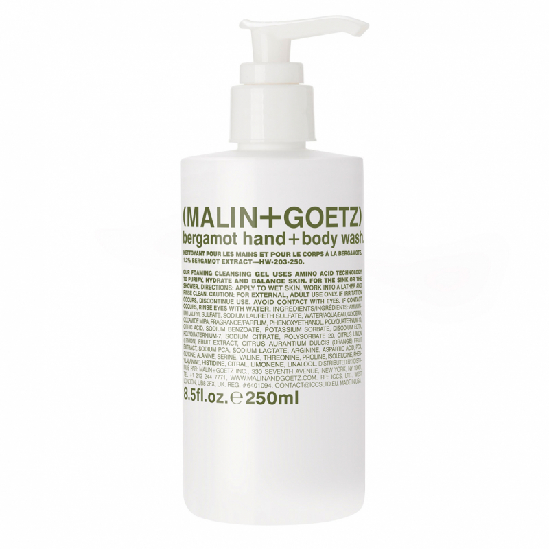 Malin+Goetz Bergamot Body Wash +