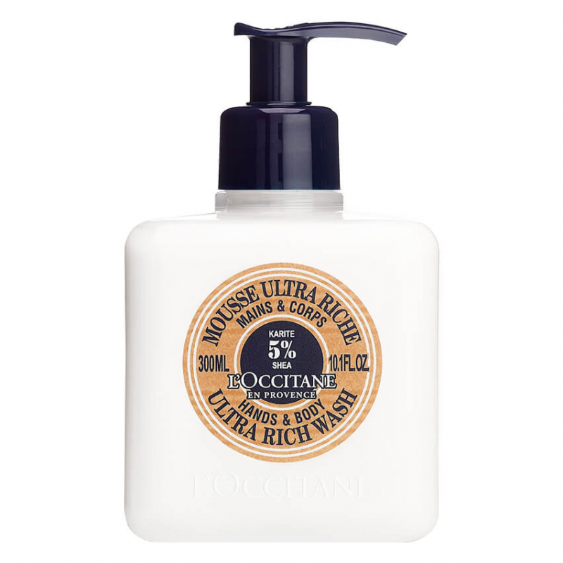 L'Occitane Shea Ultra Rich Hand Body Wash (300ml)