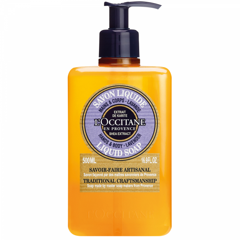 L'Occitane Shea Liquid Soap Lavendel (500ml)
