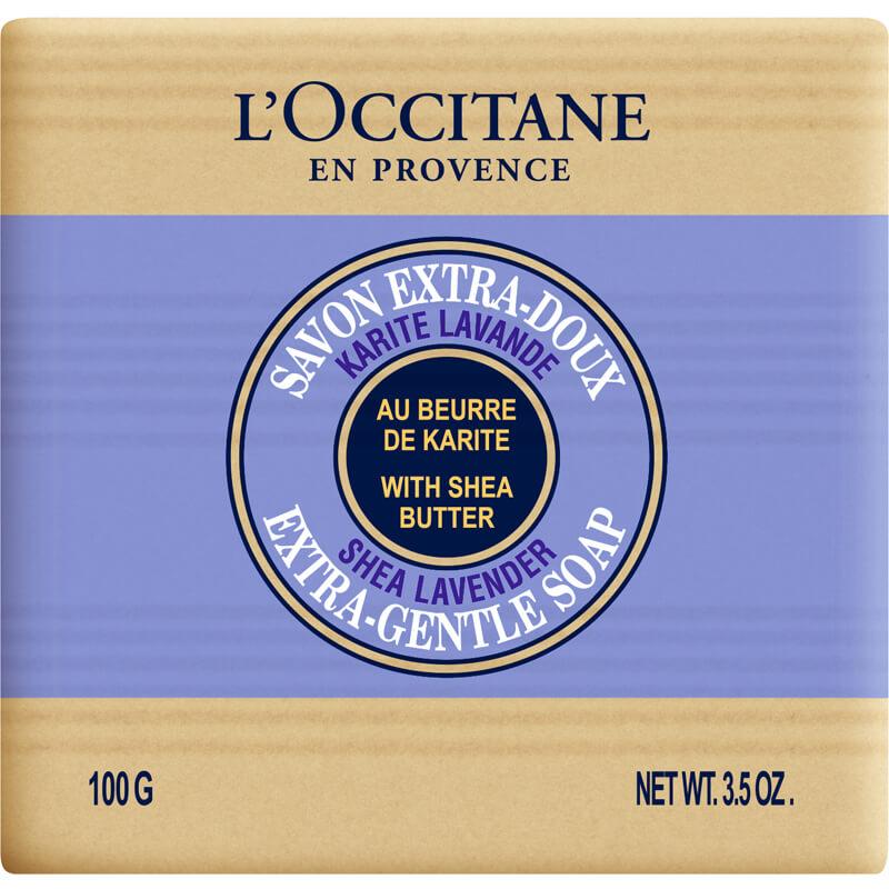 L'Occitane Shea Soap Lavendel i gruppen Kropp & spa / Hender & føtter / Håndsåpe hos Bangerhead.no (B002521r)