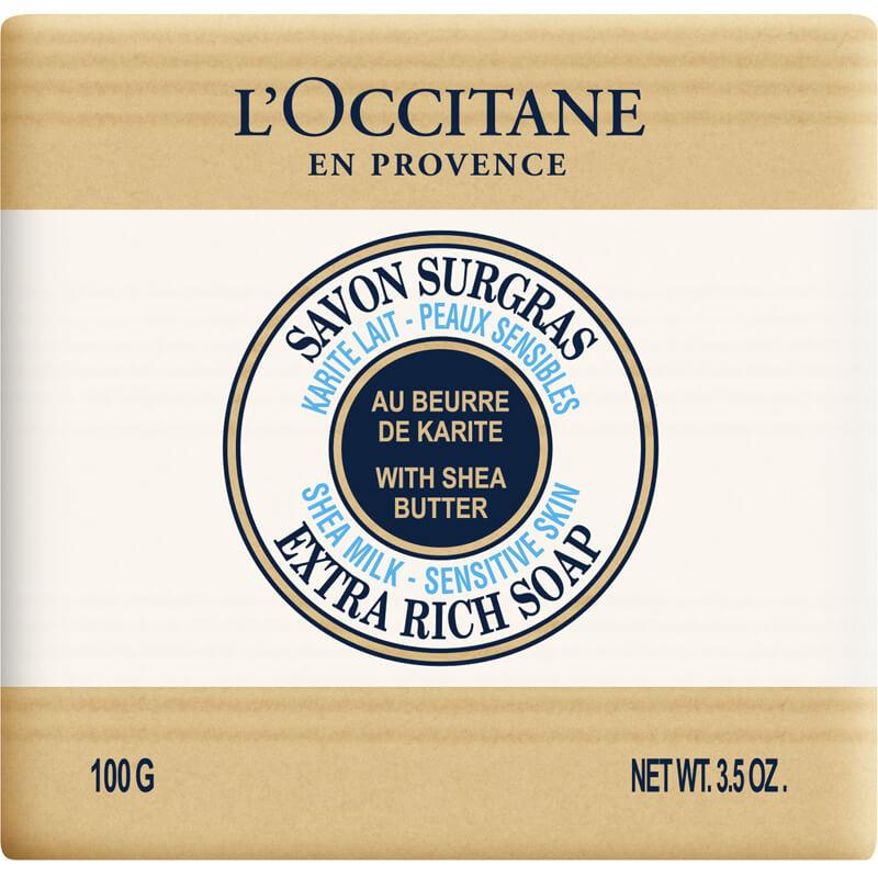L'Occitane Shea Soap Milk i gruppen Kroppsvård / Handvård & fotvård / Handtvål hos Bangerhead (B002523r)