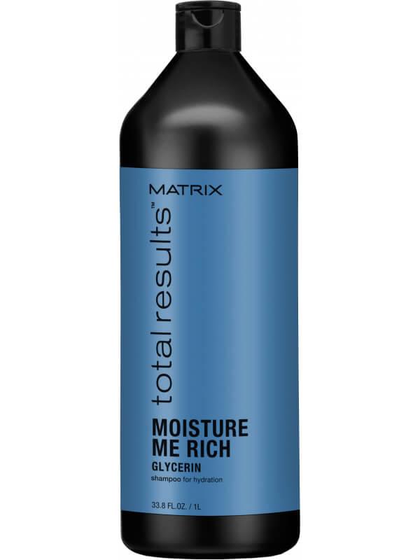 Matrix Total Results Moisture Shampoo (1000ml) ryhmässä Hiustenhoito / Shampoot & hoitoaineet / Shampoot at Bangerhead.fi (B002751)