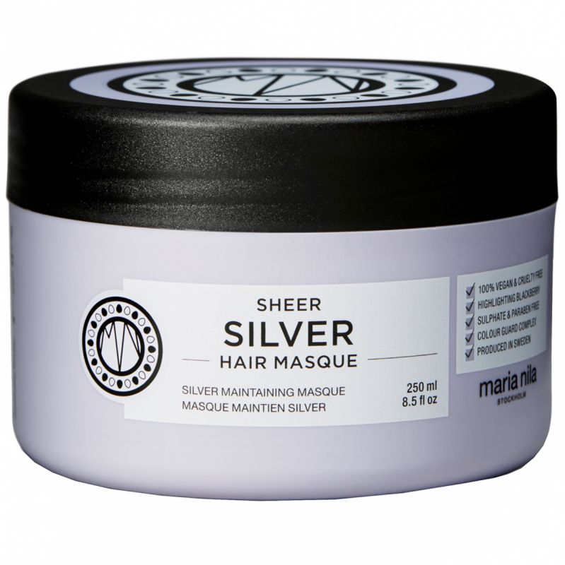 Maria Nila Care Masque Silver (250ml) i gruppen Hårpleie / Hårkur & treatments / Hårkur hos Bangerhead.no (B003043)