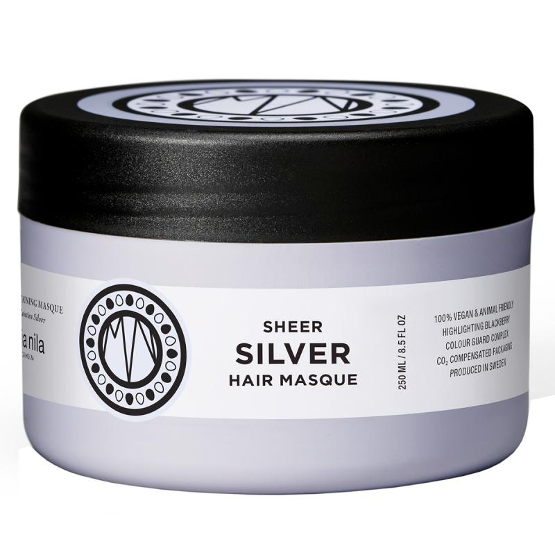 Maria Nila Care Masque Silver (250ml) ryhmässä Hiustenhoito / Hiusnaamiot ja hoitotuotteet / Naamiot at Bangerhead.fi (B003043)