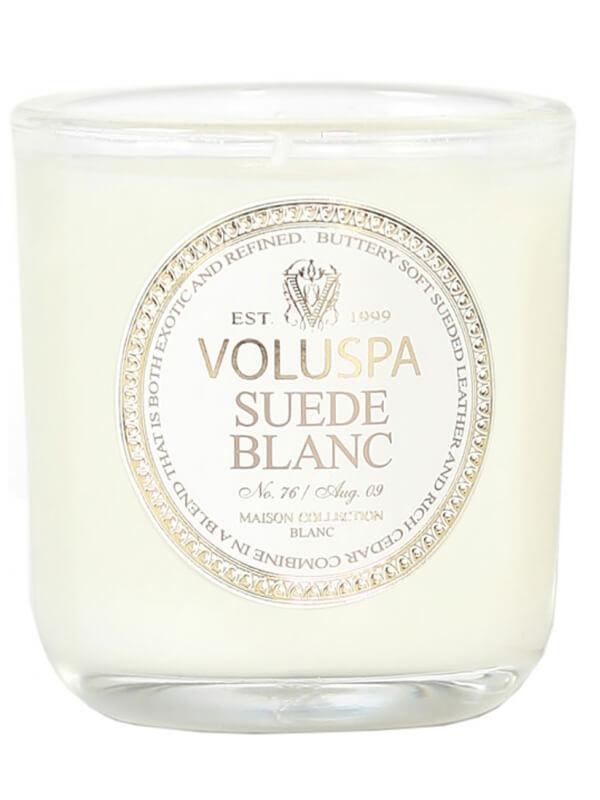 Voluspa Suede Blanc ryhmässä Tuoksut / Koti / Tuoksukynttilät at Bangerhead.fi (B029096r)