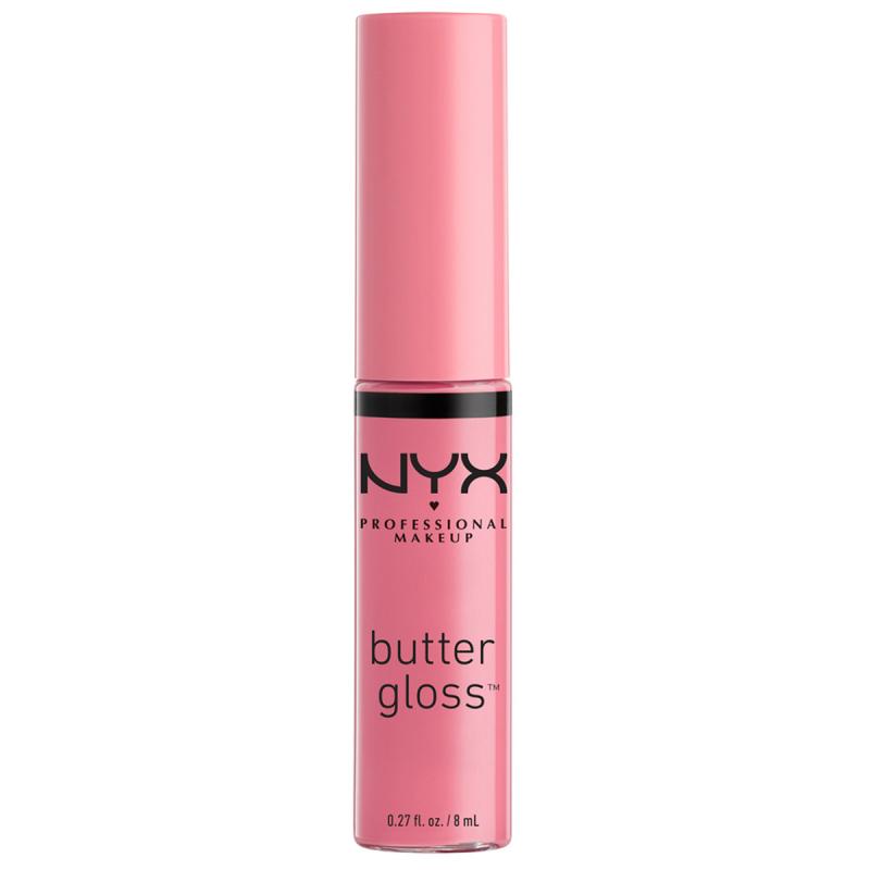 NYX Professional Makeup Butter Gloss Vanilla Cream Pie i gruppen Makeup / Läppar / Läppglans hos Bangerhead (B003806)