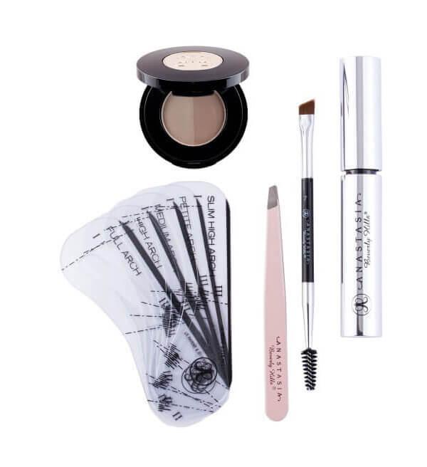 Anastasia 5-Item Brow Kits i gruppen Makeup / Ögonbryn / Ögonbrynsskugga hos Bangerhead (B003882r)