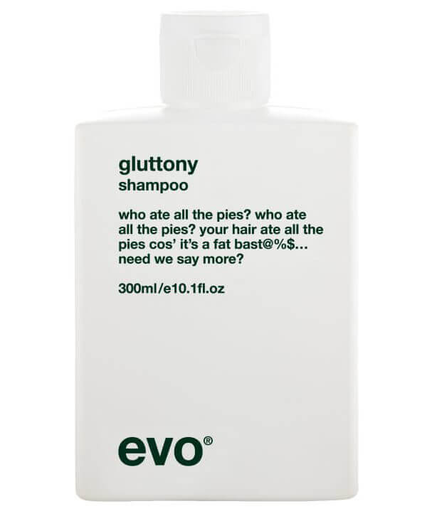Evo Gluttony Shampoo ryhmässä Hiustenhoito / Shampoot & hoitoaineet / Shampoot at Bangerhead.fi (B004258r)