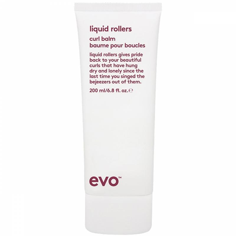 Evo Liquid Rollers Curl Balm (200ml) i gruppen Hårvård / Styling / Lockigt hår hos Bangerhead (B004262)