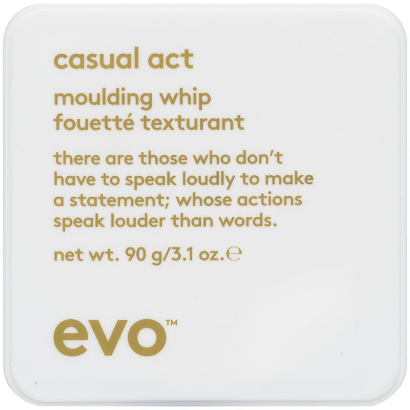 Evo Casual Act Molding Whip (90g) i gruppen Hårvård / Styling / Hårvax & stylingpaste  hos Bangerhead (B004271)