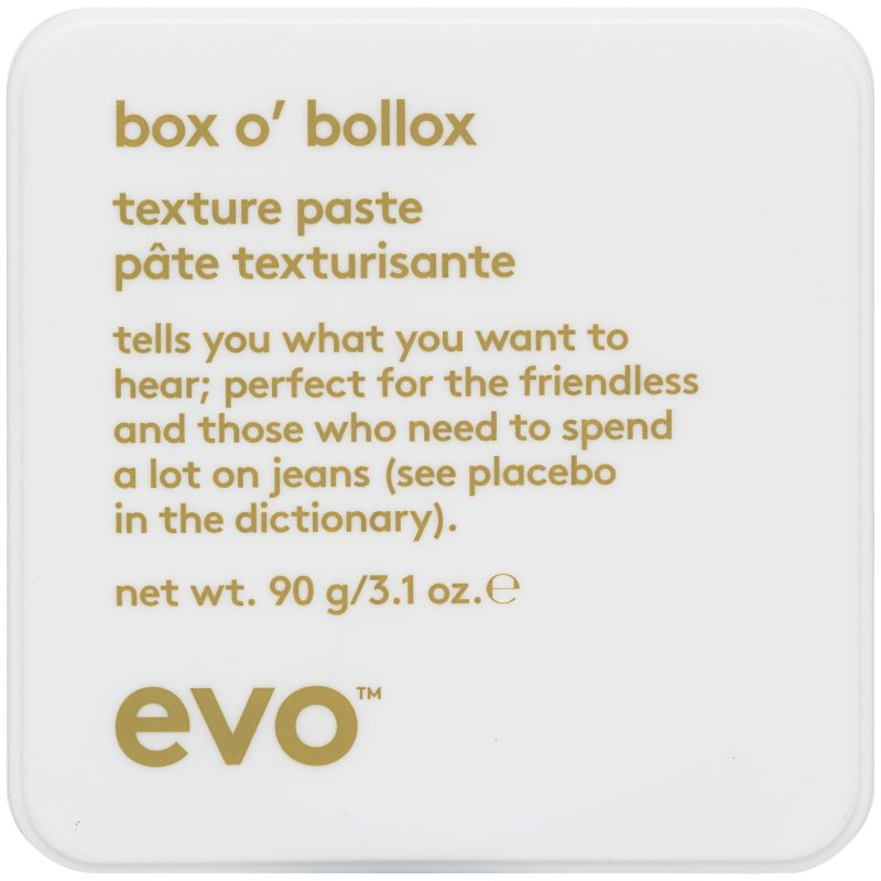 Evo Box o, Bollox Life Changing Paste