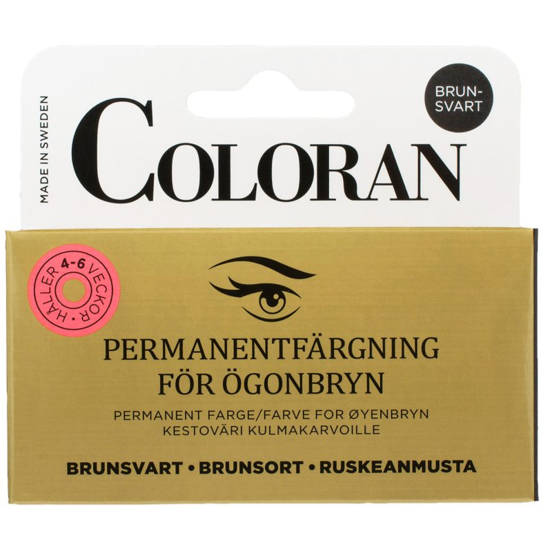 Coloran Brynfärg - Brunsvart