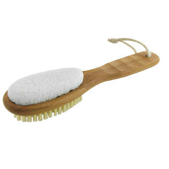 EcoTools Bamboo Foot Brush And File