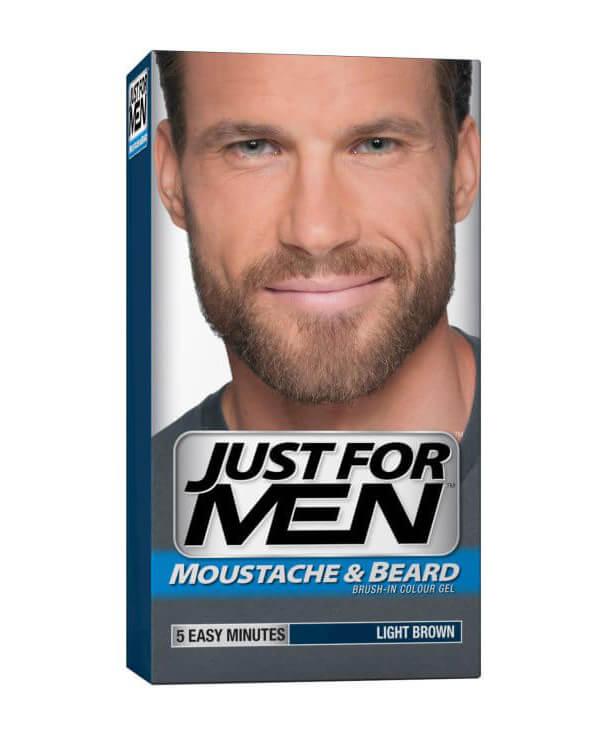 Just For Men - Moustache & Beard i gruppen Man / Rakning & grooming för män / Färgning för män hos Bangerhead (B006299r)