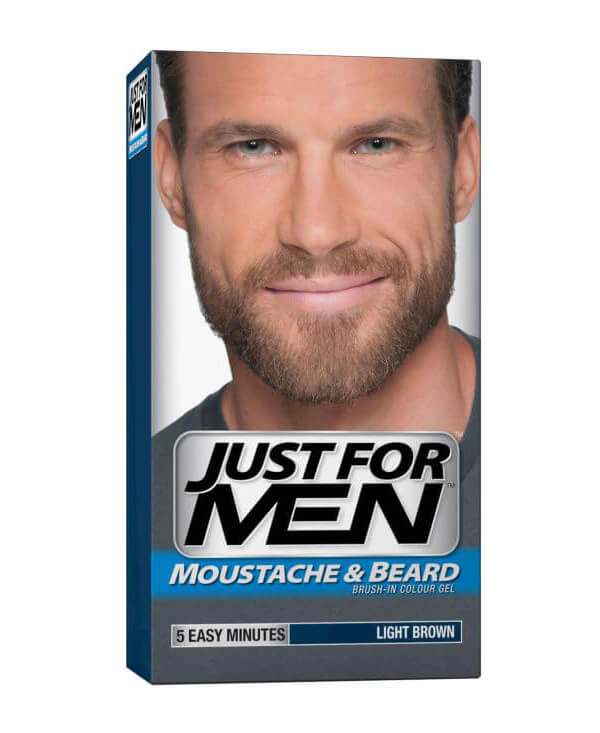 Just For Men Moustache & Beard i gruppen Man / Skäggprodukter / Skäggfärg hos Bangerhead (B006299r)