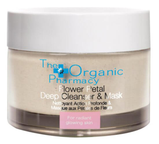The Organic Pharmacy Flower Petal Deep Cleanser and Exfoliating Mask