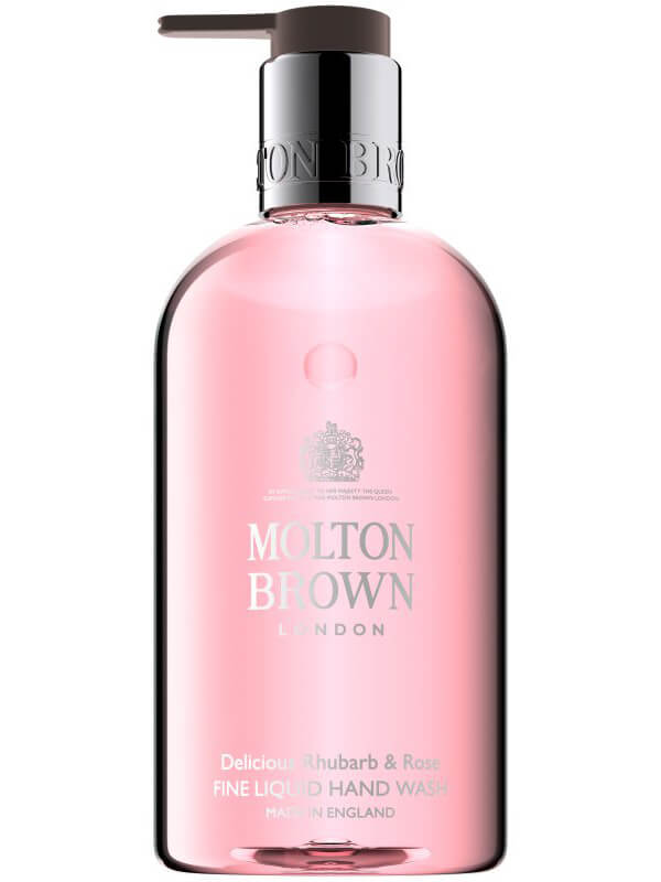 Molton Brown Rhubarb And Rose Hand Wash (300ml) i gruppen Kroppsv�rd & spa / H�nder & f�tter / Handtv�l hos Bangerhead (B006710)