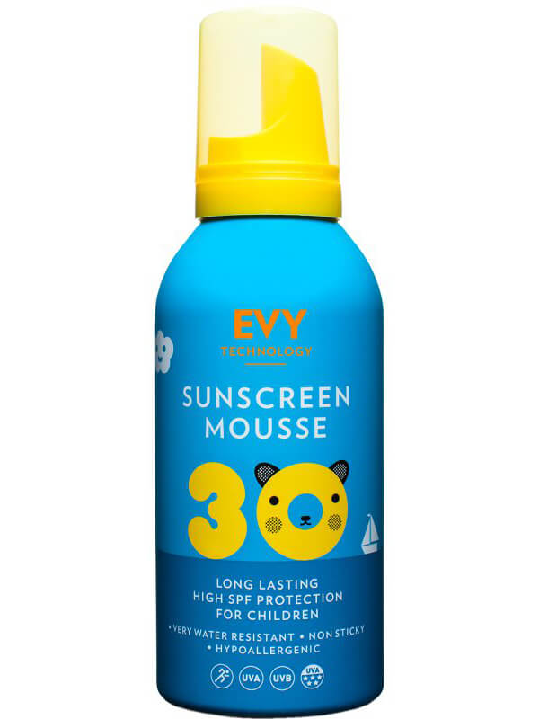 EVY Sunscreen Mousse Kids SPF 30