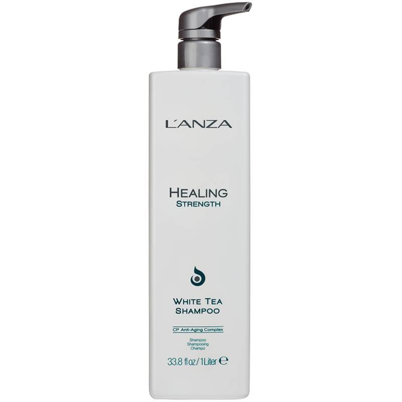 Lanza Healing Strength White Tea Shampoo i gruppen Hårpleie / Shampoo & balsam / Shampoo hos Bangerhead.no (L934r)