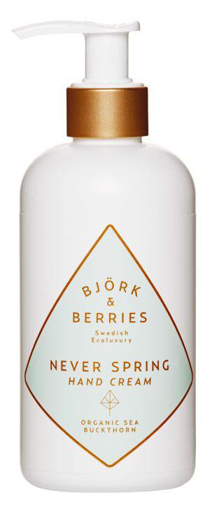 Björk & Berries Never Spring Hand Cream i gruppen Kroppspleie & spa / Økologisk kroppspleie & spa hos Bangerhead.no (B007212)