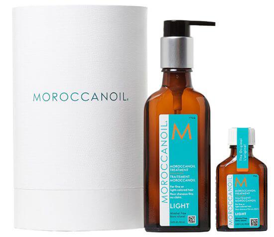 Moroccanoil Cylinder Deal Light (100+25ml) i gruppen Hårvård / Styling / Hårolja hos Bangerhead (B007484)