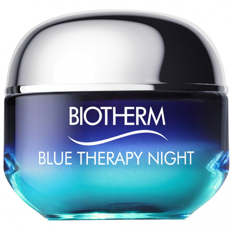 Biotherm Blue Therapy Night - All Skin Types (50ml) i gruppen Hudpleie / Fuktighetskrem / Nattkrem hos Bangerhead.no (B007574)