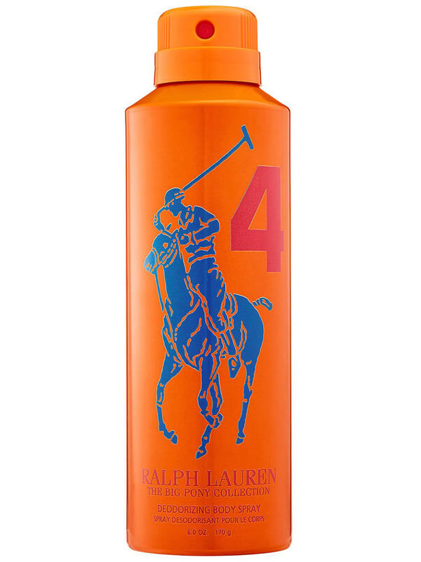 Ralph Lauren Big Pony Men 4 Orange Body Spray (200ml)