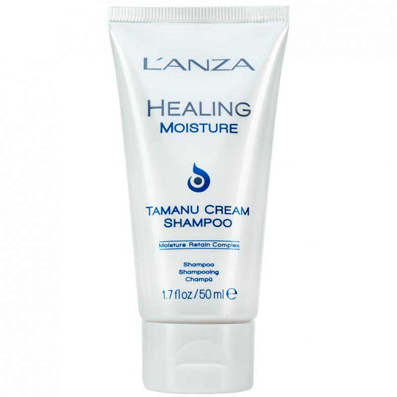 Lanza Healing Moisture Tamanu Cream Shampoo ryhmässä Hiustenhoito / Shampoot / Shampoot at Bangerhead.fi (B028183r)