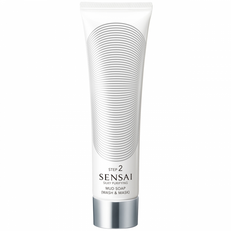 Sensai Silky Purifying Mud Soap Wash And Mask (125ml)
