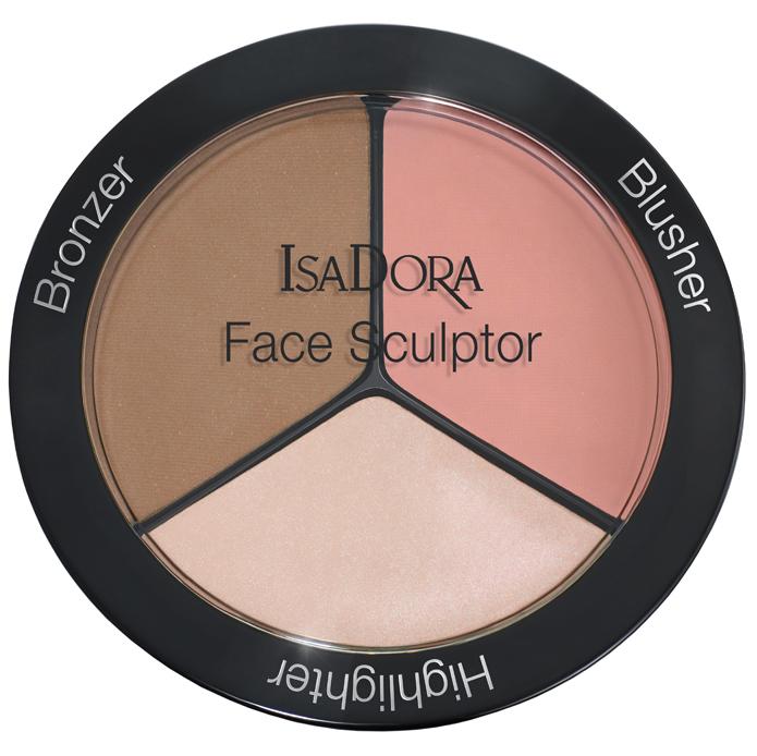 IsaDora Face Sculptor i gruppen Makeup / Kinn / Ansiktspalett hos Bangerhead.no (B008739r)